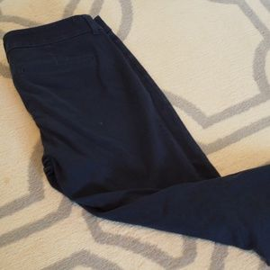 Old Navy Pixie Pants Size 8 in Navy GUC